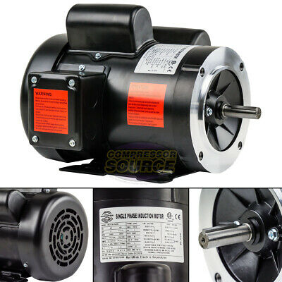 2 Hp Electric Motor Single Phase 56h Frame 3450 Rpm Tefc 115 230v C Face