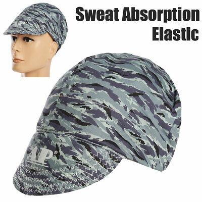 Sweat Absorption Welding Welder Hat Cap Pure Cotton Flame Retardant Elastic Fit