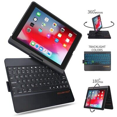 Slim Folio Case with Integrated Bluetooth Keyboard for iPad 5th & 6th Gen (Integrated Bluetooth)