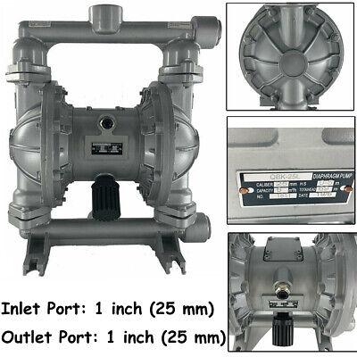 Air-operated Double Diaphragm Pump Transfer Membrane Heavy Duty Aluminium 12