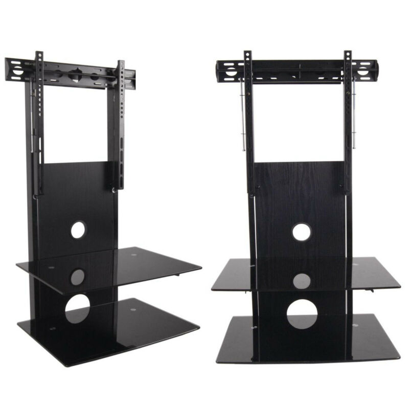 flat screen tv wall mount shelf ebay. Black Bedroom Furniture Sets. Home Design Ideas
