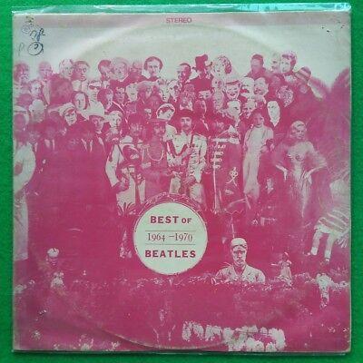 The Beatles - Best Of Beatles 1964-1970, korea vinyl lp Pink Cover VG / EX+(EX-)