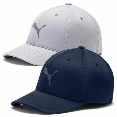 Puma Golf Mens Evofit Cap Sweat Breathable Flexfit Wicking Golf Hat