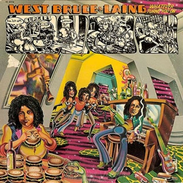 BRUCE & LAING WEST - WHATEVER TURNS YOU ON (REM.)  CD NEU