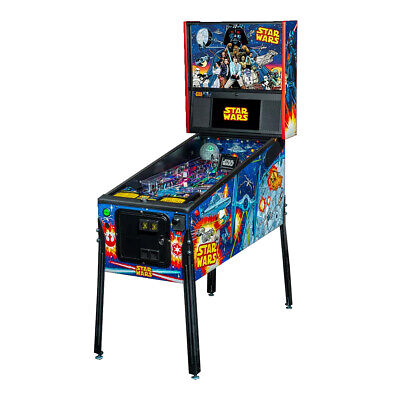 Stern Star Wars Comic Art Pro Pinball Machine