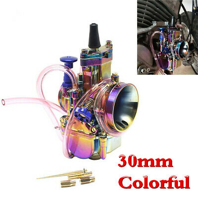 30mm PWK Colorful Aluminum Carburetor Cab For Motorcycle ATV Scooter 150cc-200cc