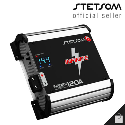 Stetsom Infinite 120 Charger Battery Power Supply Source 120A - 3 Day Delivery