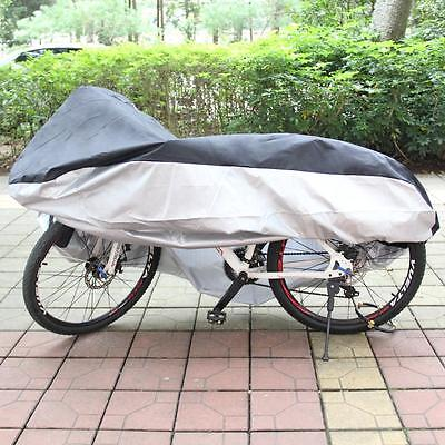 Ohuhu Waterproof 210T Nylon Bicycle Cycle Bike Cover Outdoor Rain Dust Protector
