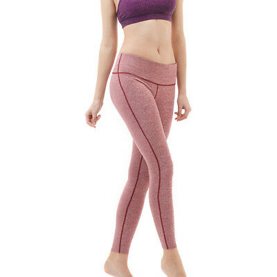 Tesla FYP41 Women's Mid-Waist Ultra-Stretch Yoga Pants - Spa