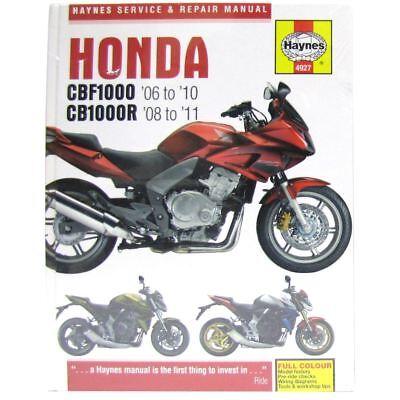 Workshop Manual Honda CBF1000 06-10, CB1000R 08-11