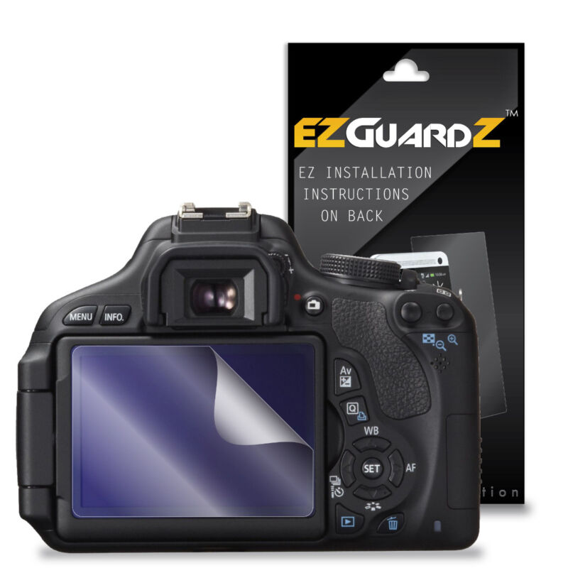 3X EZguardz LCD Screen Protector Skin HD 3X For Canon Rebel T3i (Ultra Clear)