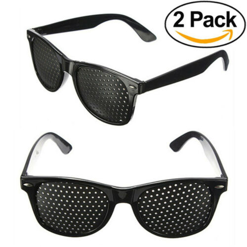 Rasterbrille Gitterbrille Augentraining Sehkorrektur Pinhole Lochbrille Brille