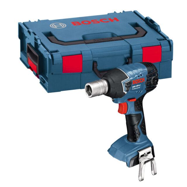 Bosch GDS 18 V-LI Cordless Impact Wrench bare. L-BOXX 06019A1S06
