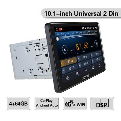 """10.1"""" Big Screen Car Multimedia Player 8 Core Android Head Unit Double 2 Din DSP"""