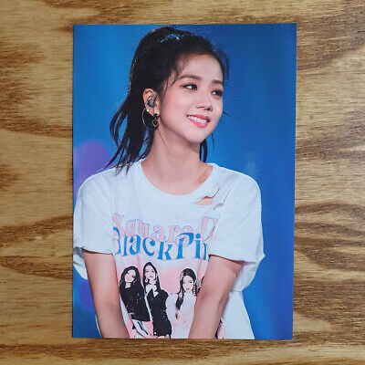 Jisoo Official Postcard BlackPink 2018 Tour [IN YOUR AREA] Seoul DVD Kpop