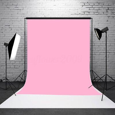 3x5ft Baby Pink Thin Vinyl Photography Background Backdrop Studio Photo Props - Pink Backdrop