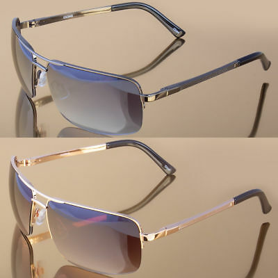 Black Metal Aviator Men Glasses Outdoor Sports Eyewear Driving -