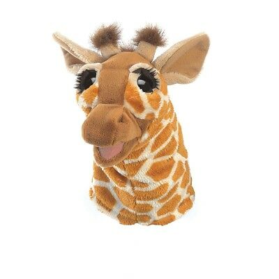 Giraffe Puppet with Movable Mouth Little Folkmanis T3086, Boys & Girls, 3 & - Giraffe Puppet