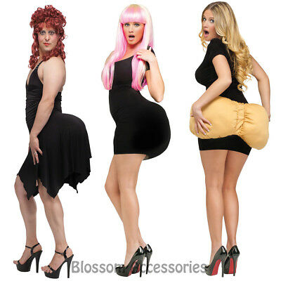A712 Big Booty Unisex Buttocks Fake Padded Bums Butt Back End Costume Accessory