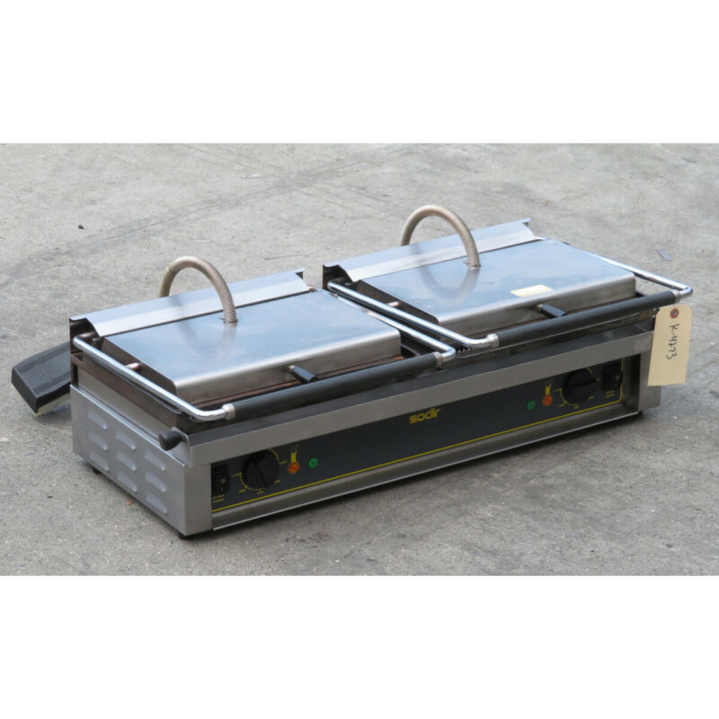 Equipex DIABLO Panini Grill, Used Excellent Condition