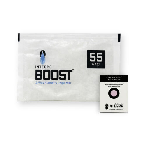 10 Pack Integra Boost RH 55% 67 gram Humidity 2 Way Control Humidor Fresh Pack