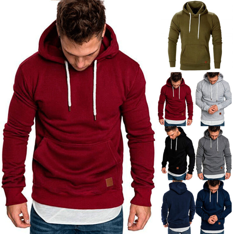 WestWell Keep Calm and Rot On Mens Blank Hooded Sweatshirt Comfortable