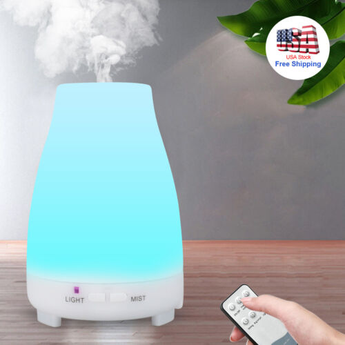 Essential Oil Diffuser Cool Mist Humidifier Air Aromatherapy