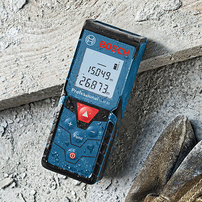 BOSCH 40m//131ft GLM 40 Laser Digital Distance Tape Measure//Pointer Both mm//Inch
