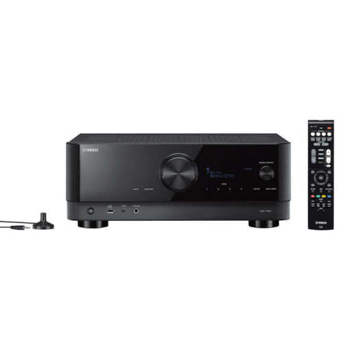 Yamaha TSR-700 7.1 Channel Network A/V Receiver with 4K Ultra HD, HDR10, Dolby