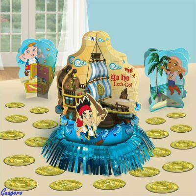 Jake And Neverland Pirates Decorations (Jake and the Neverland Pirates Table Decorating Kit Centerpiece)