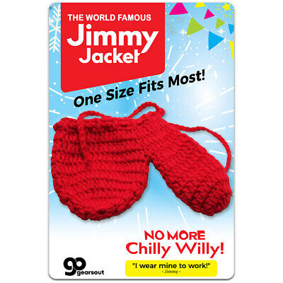 Jimmy Jacket - Knitted Willy Warmer for Men - Gag Gift - Funny Stocking Stuffers