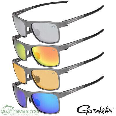 Gamakatsu G-Glasses ALU Polarisationsbrille Farbwahl Polbrille Sonnenbrille