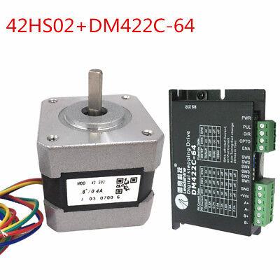 Leadshine 42hs02dm422c-64 2ph 31oz-in 0.22nm Nema17 42mm 1840vdc Microstep64