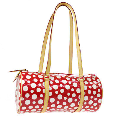 AUTHENTIC LOUIS VUITTON PAPILLON SHOULDER BAG INFINITY DOTS YAYOI KUSAMA M14011