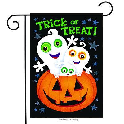 Trick or Treat Halloween Fall Garden Flag
