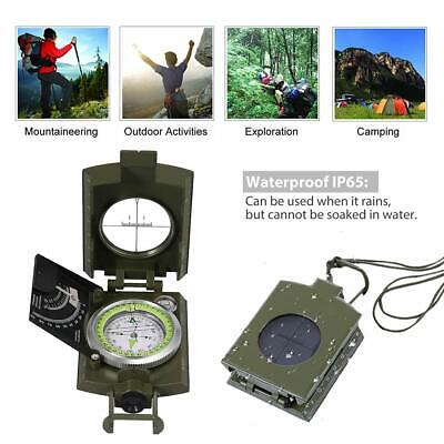 Perfect or Hiking//Camping Handheld HUMVEE Digital Compass batteries included