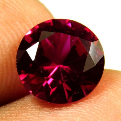 4-5 Ct Beautiful Transparent Burma Pigeon Blood Red Ruby Gemstone GIE Certified