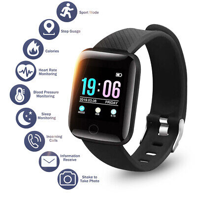 Waterproof bluetooth Smart Watch Wrist Phone Mate Pedometer For iPhone Android