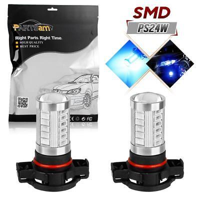 High Power 12000k Blue Fog Light Bulbs 5202 12086 PS24W off-road performance