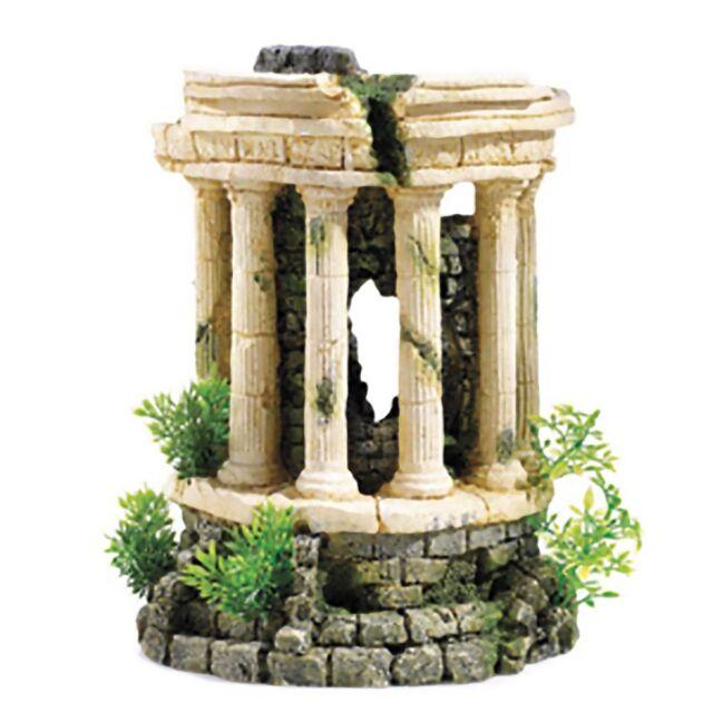 Classic Air Roman Tower 11'' Aquarium Fish Ornament