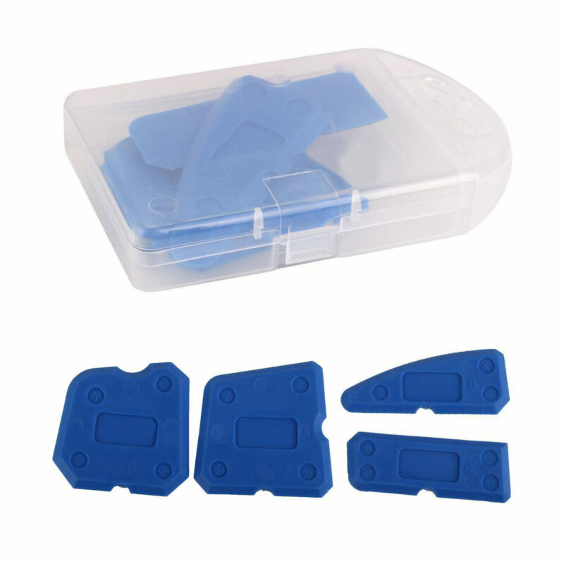 4pc caulking tool set silicone grout smooth