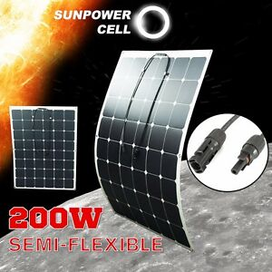 200W-18V-Semi-Flexible-Solar-Panel-Battery-Charger-For-RV-Boat-Caravan-Motorhome