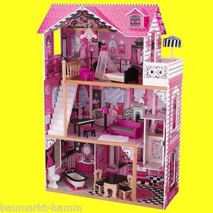 KIDKRAFT Großes Puppenhaus AMELIA Dollhouse Nr 65093 Holz Puppen