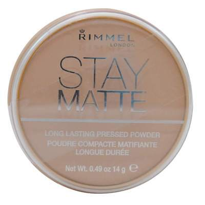 Rimmel Stay Matte Long Lasting Pressed Powder #011 Creamy