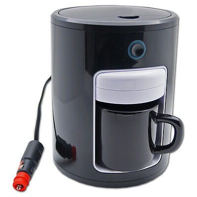 12V PAD 1,5 BAR LED Kaffeemaschine Auto Kaffee Automat 12 Volt Reise Boot PKW