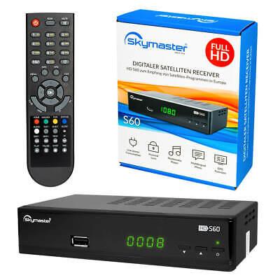 Comag HD45 HD TV FULL Digital Satellitenreceiver EPG HDMI USB Scart Hdmi DVB-S2