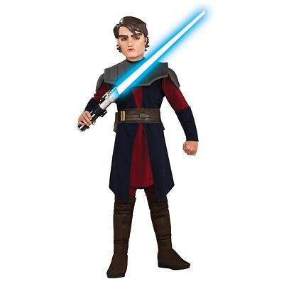 Deluxe Anakin Skywalker Kinder Kostüm Karneval Star - Star Wars Anakin Skywalker Kinder Kostüm