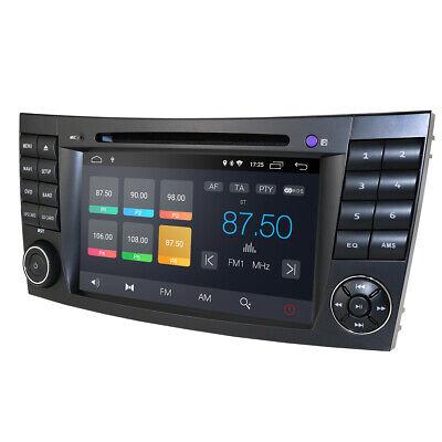 Mercedes Benz W219 Autoradio Android 9.0 DVD GPS für E/CLS/G Klasse W211 16G ROM