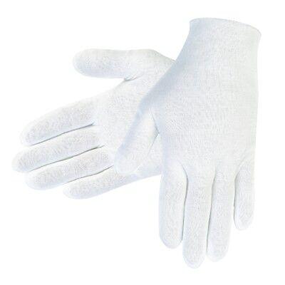 1 Dozen Memphis Cotton Inspection Gloves, White