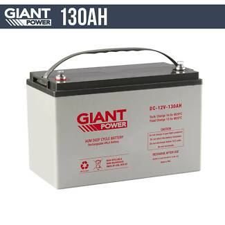 130AH 12V AGM Deep Cycle Battery Five Dock Canada Bay Area Preview